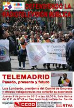 DEFENDIENDO LA RTVPUBLICA. TELEMADRID